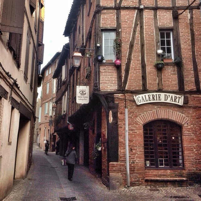 France, Albi Old Town