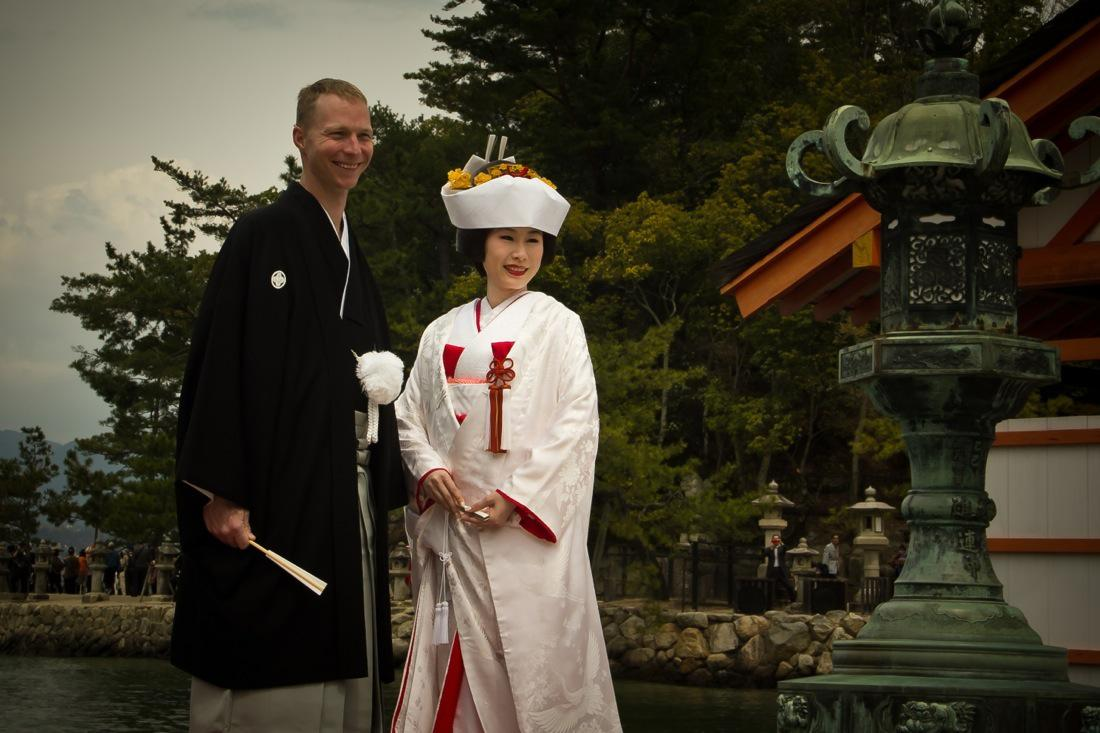 Japanese Wedding in Miyajima