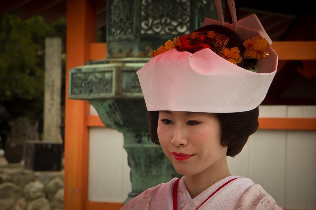 Miyajima, Japanese Bride