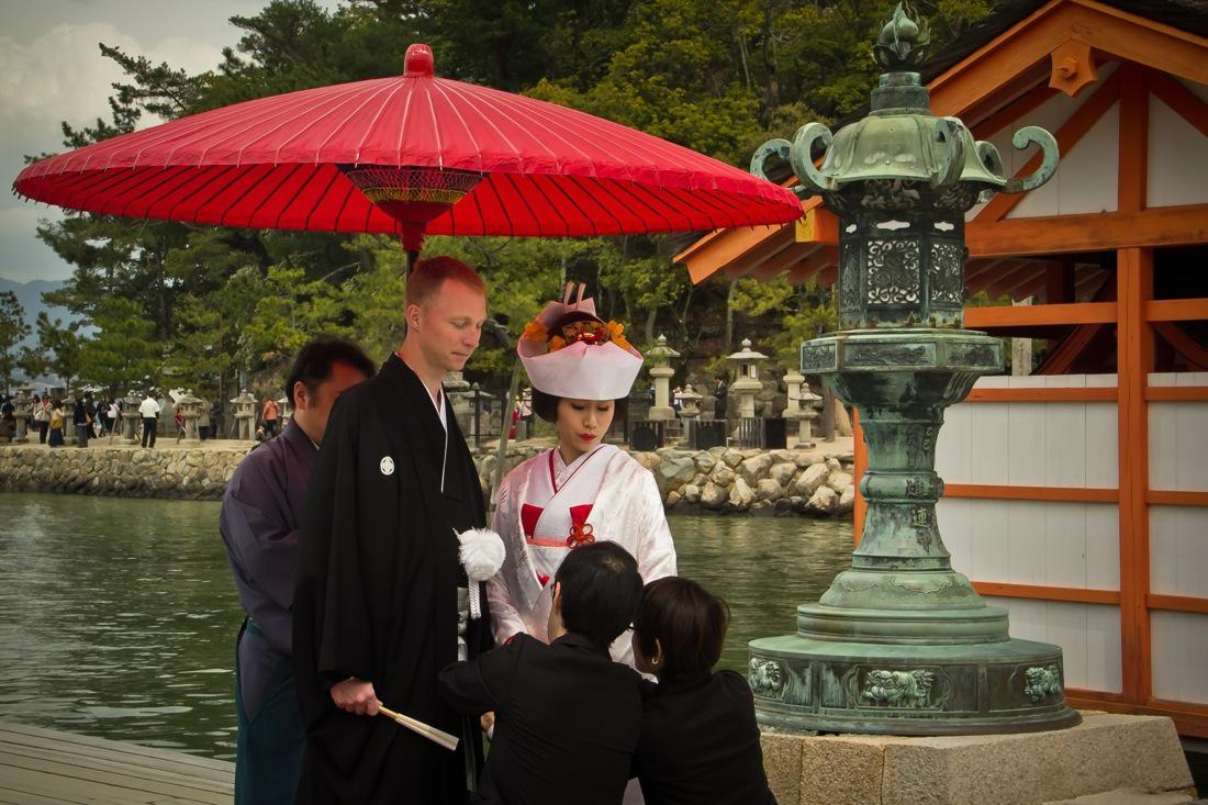 Setting Up Details, a Must in a Japanese Traditional Marriage
