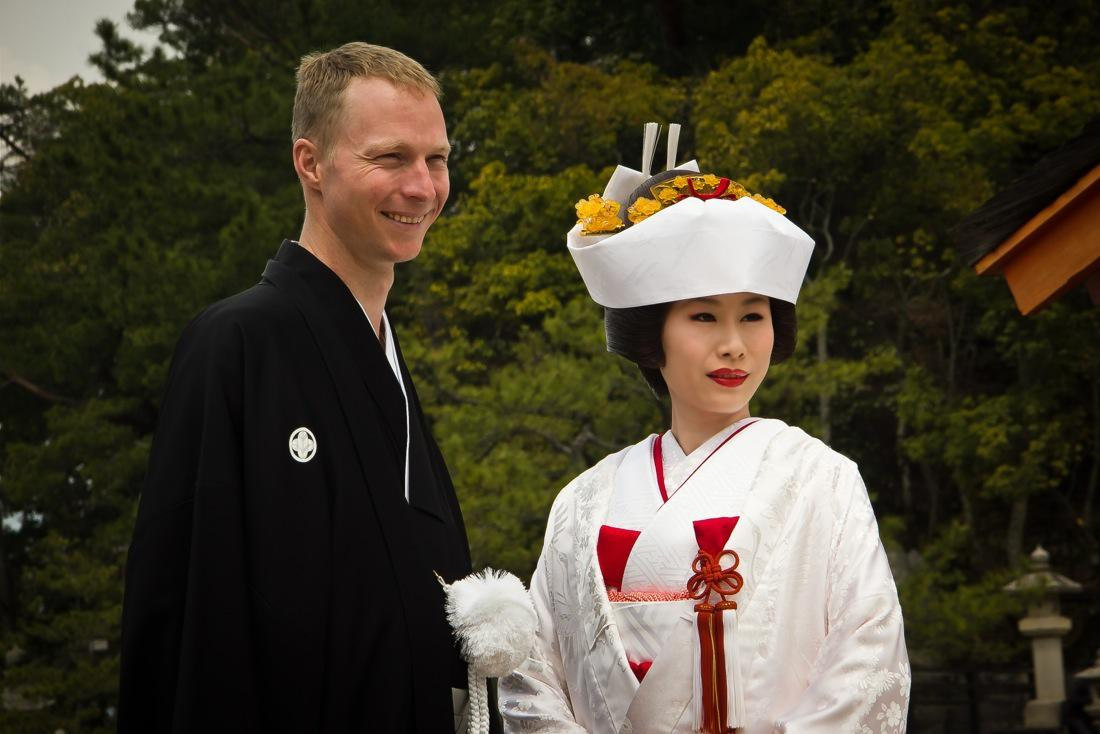 The Beautiful Costumes of a Traditional Japanese Wedding