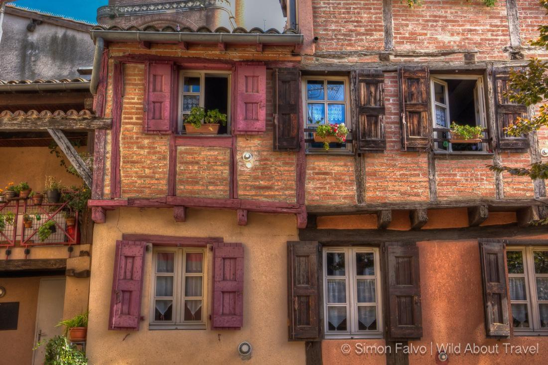 Albi Old Houses