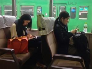 Japan, Life on the Train