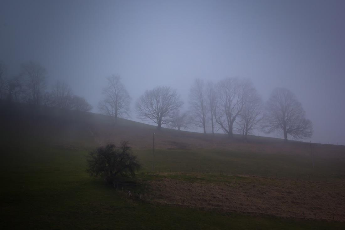 Saanenland, Eerie Blue fog