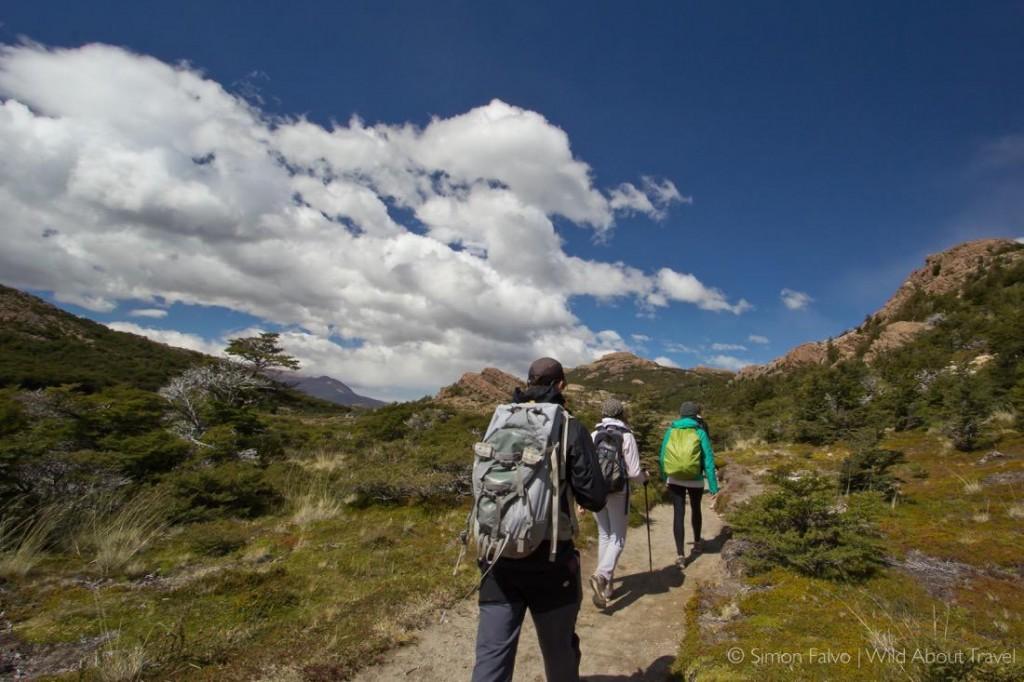 Hiking Los Glaciares National Park Resized