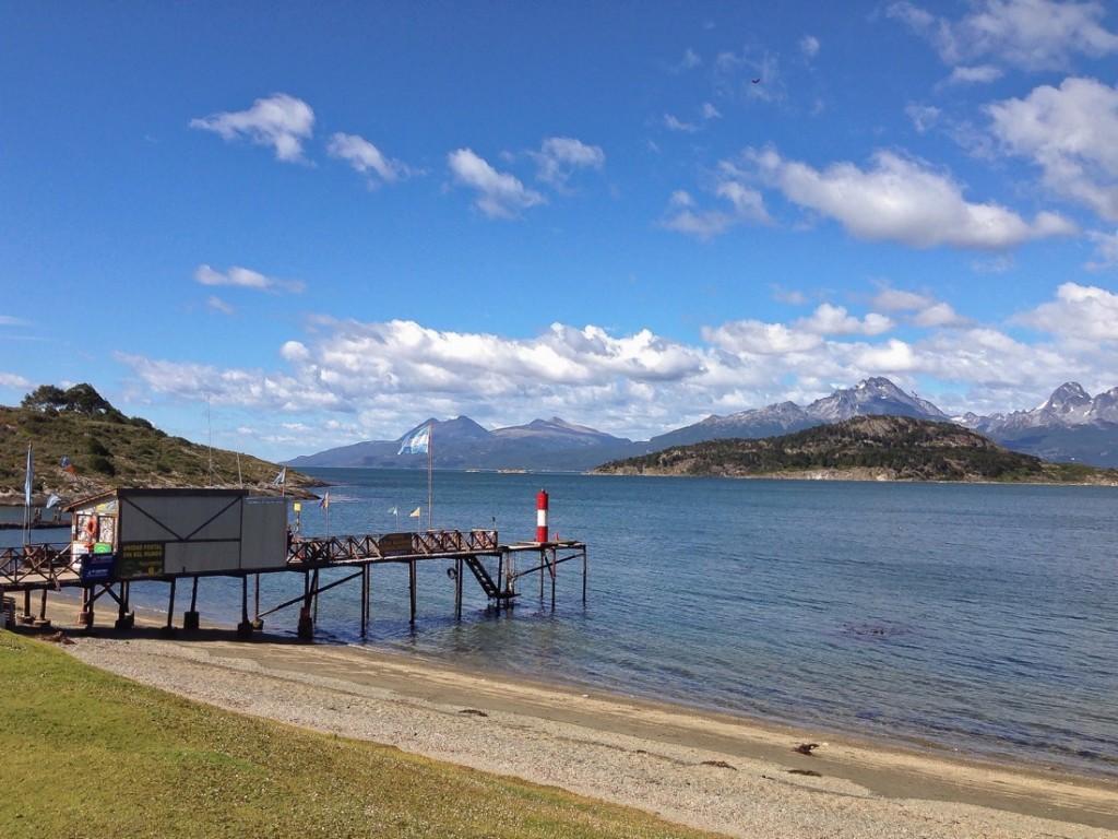 Tierra del Fuego National Park Bahia Ensenada Pier