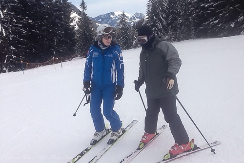 Gstaad, Ski Instructor for Disabled
