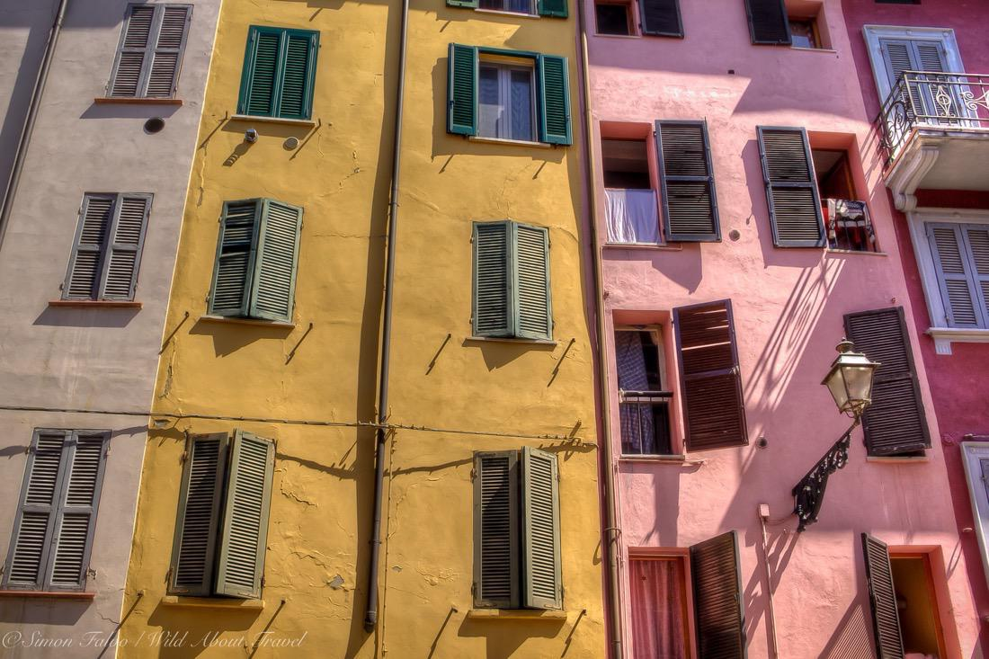 Parma, Pink and Yellow Facades