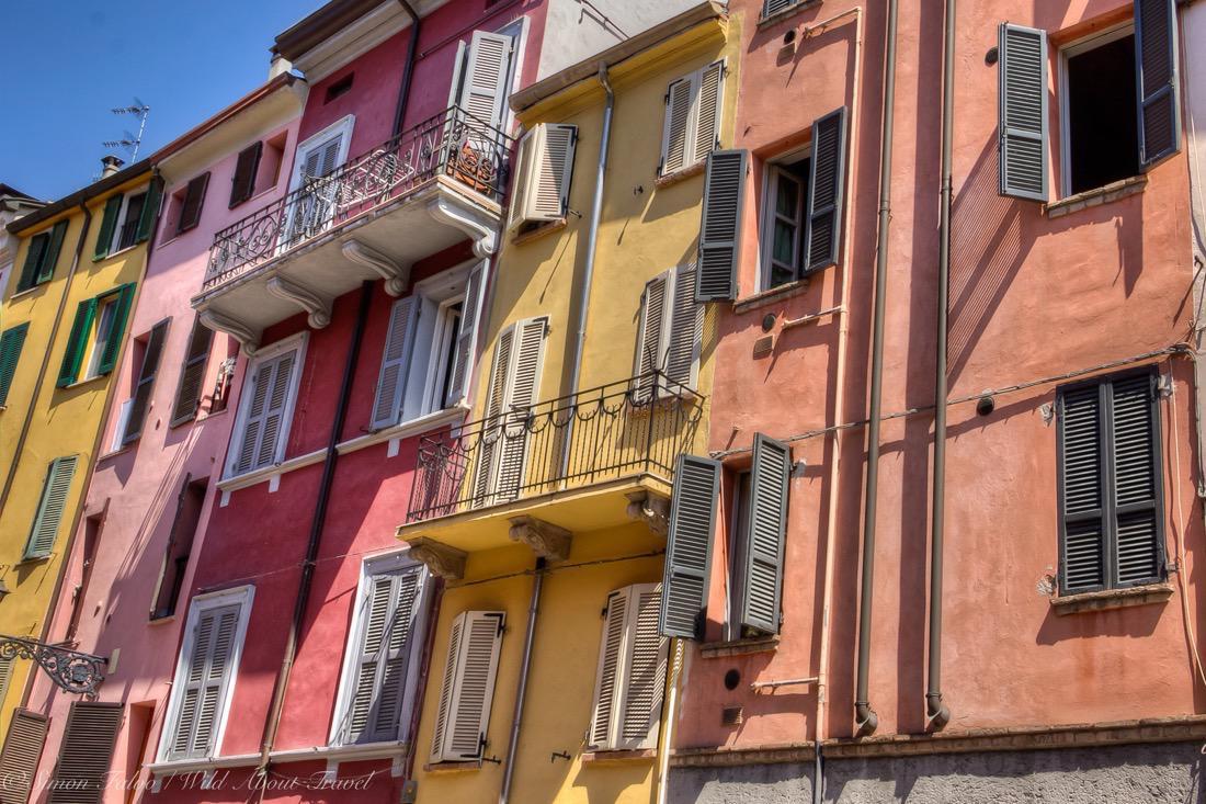 Parma's Sparkling Colors