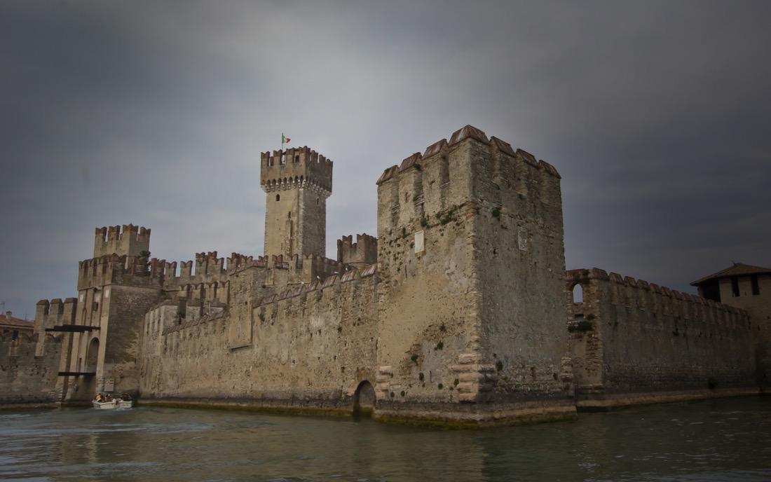 Sirmione, Scaliger Castle