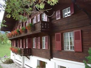 Saanen Ferienhaus Alpenblick