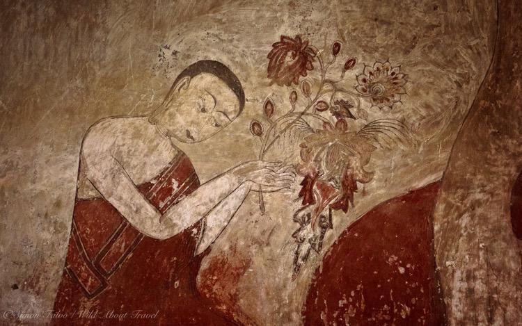 Baga, Sulamani Temple Frescoes