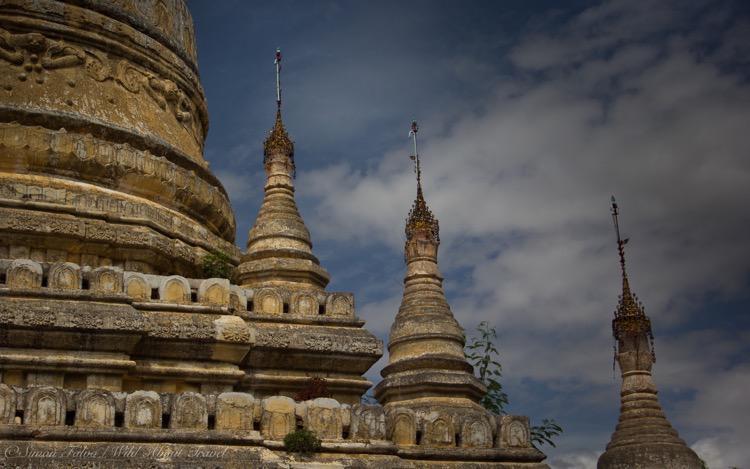 Bagan Temples, Mouldings Details