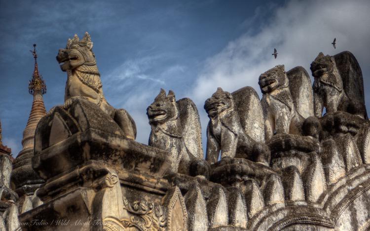 Burma, Bagan, Ananda Temple Carvings