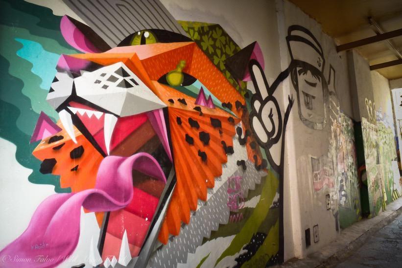 Hamburg St Pauli Graffiti
