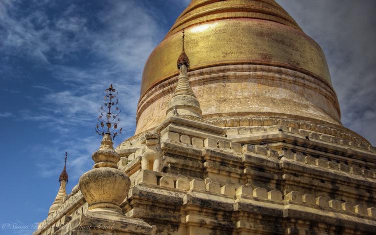 Myanmar, Bagan, Dhammayazika Pagoda