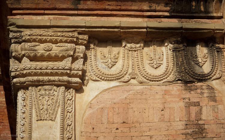 Myanmar, Bagan Intricate Carvings