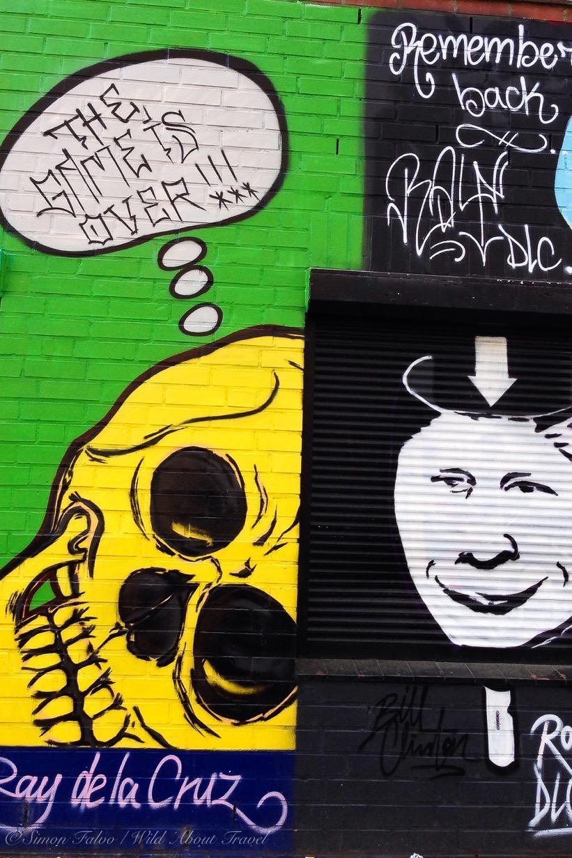 Ray de la Cruz Graffiti, Hamburg