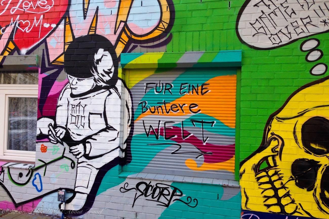 St Pauli, Hamburg, Graffiti