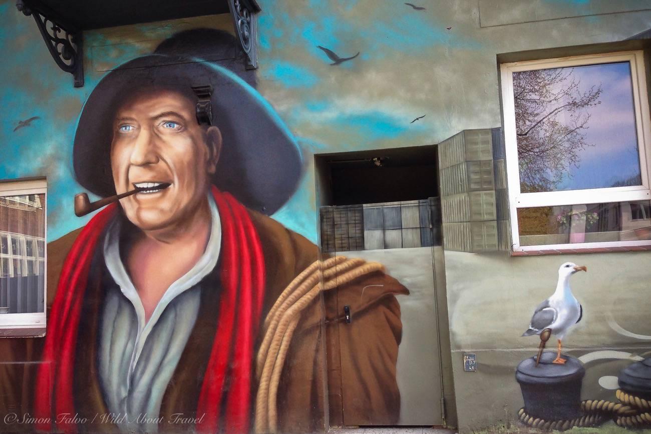 Wall Painting in Hamburg