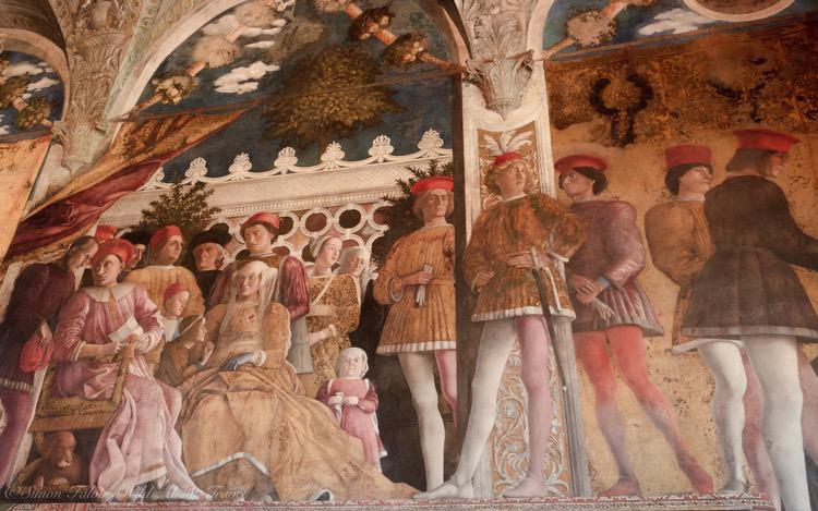 Italy, Mantua, The Bridal Chamber