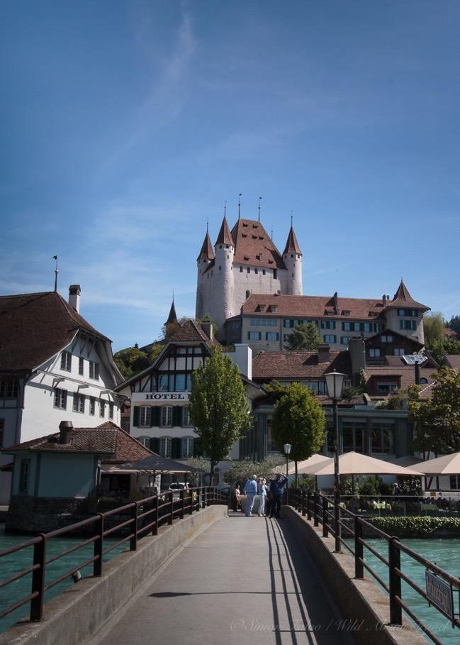Switzerland, Thun Old Town and Castle