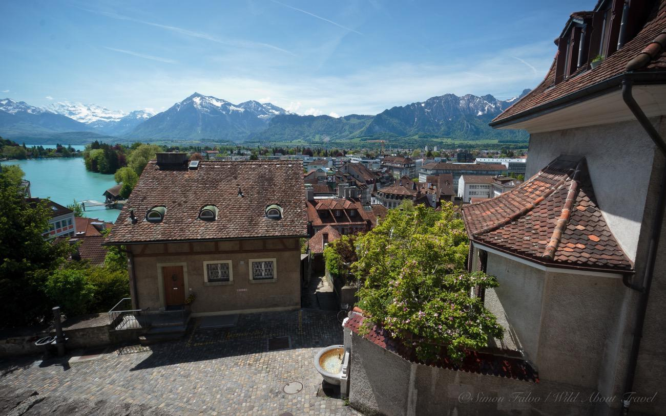 Thun Old Town from Above