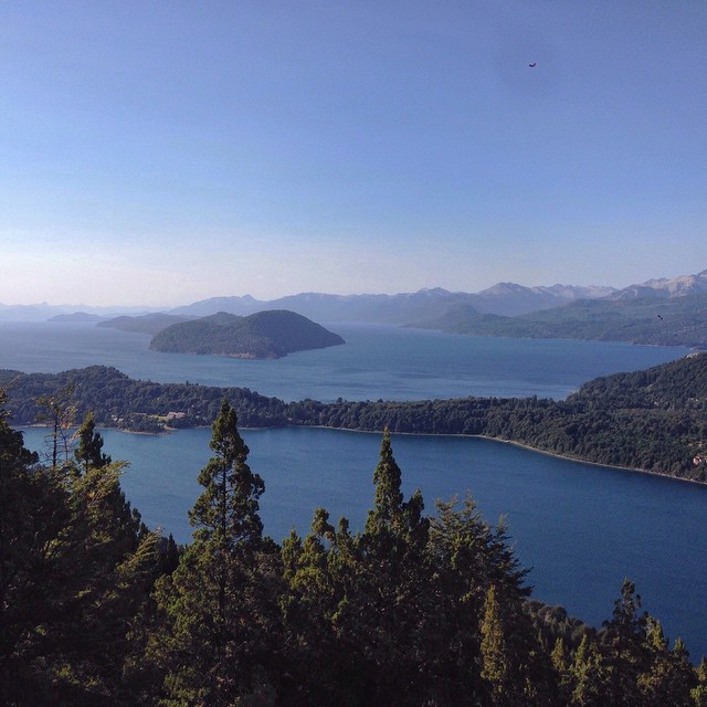 Bariloche, View from Cerro Campanario