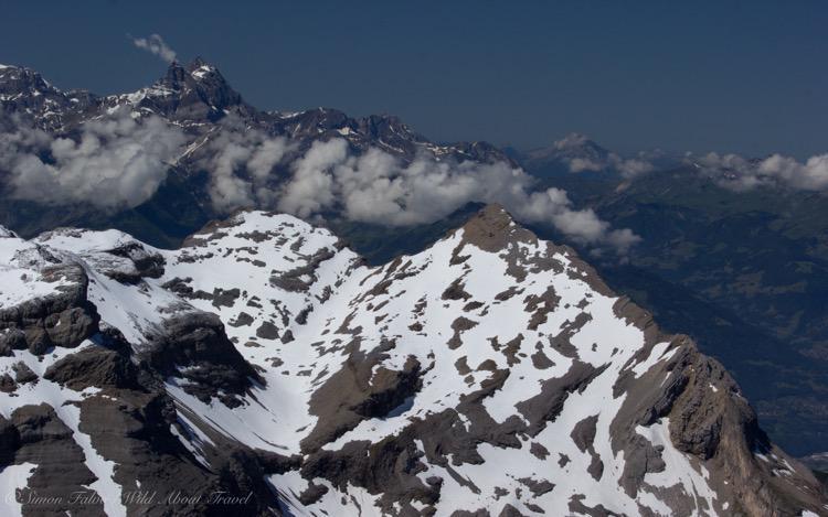 Les Diablerets, Snowy Peaks