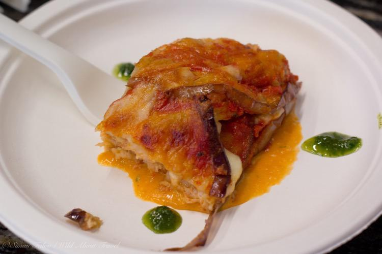 Parmigiana di Alici, by Chef Antonio Cameli