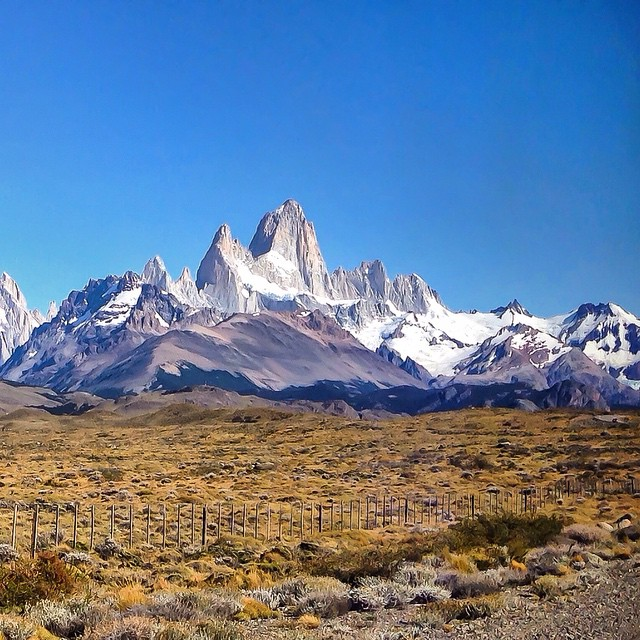 Patagonia, Cerro Torre and Fitz Roy