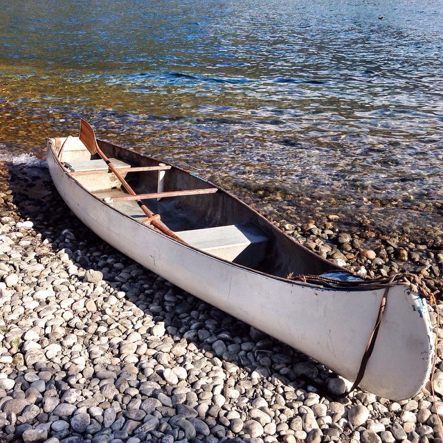 Patagonia, Kayak in Lago Puelo