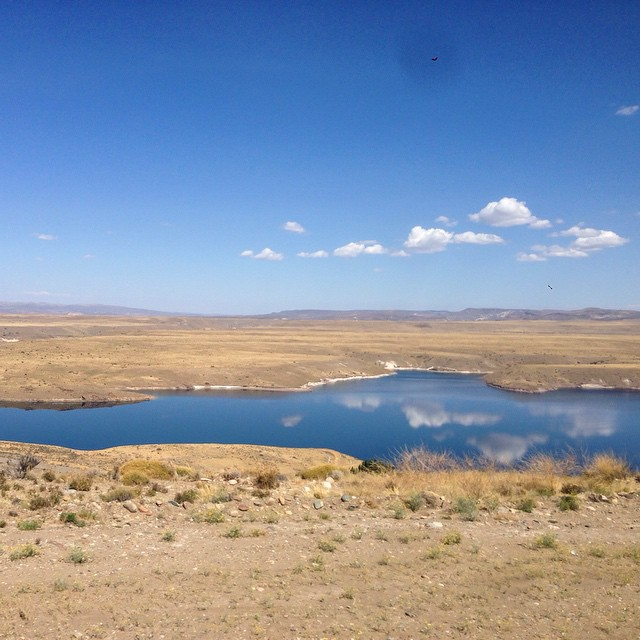 Patagonia, Steppe and Lagoon