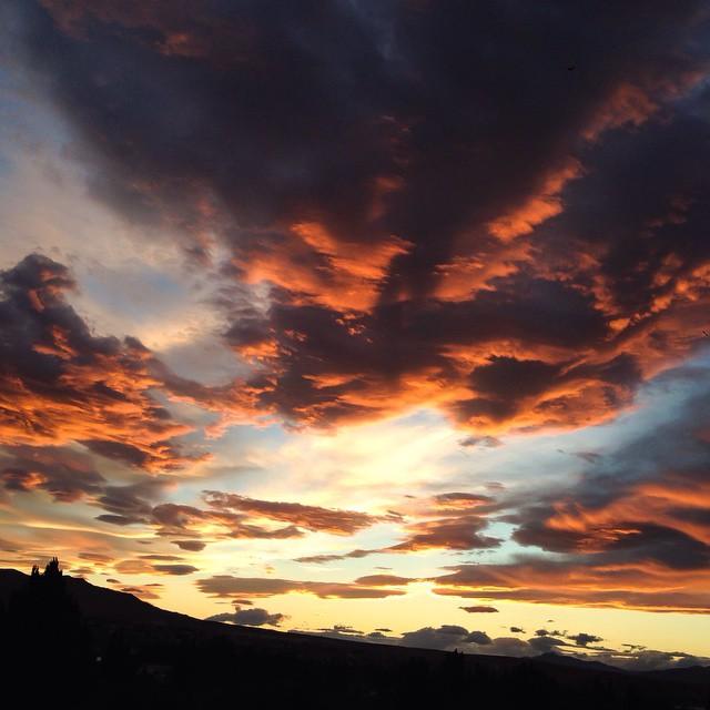 Sunset In Calafate