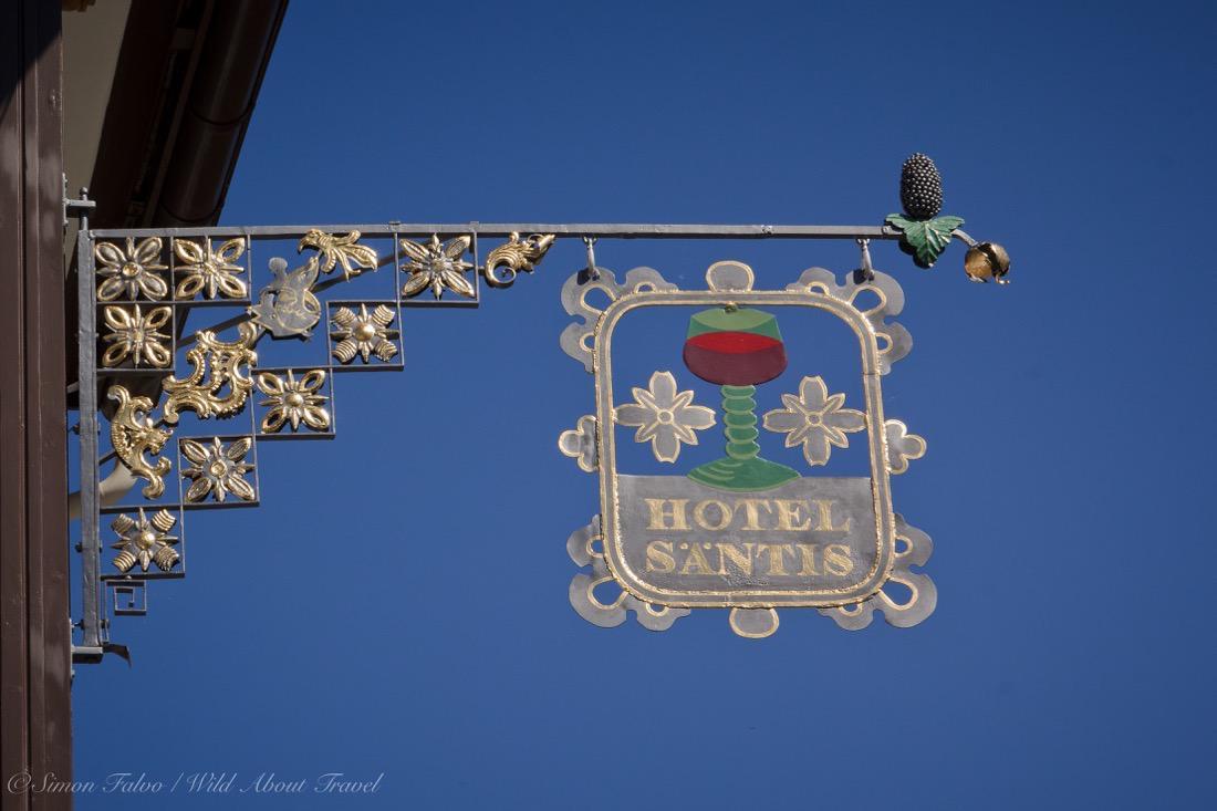 Appenzell Romantik Hotel Säntis