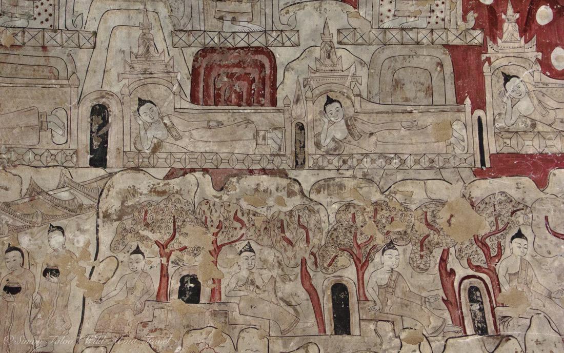 Bagan, Sulamani Temple Frescoes [3]