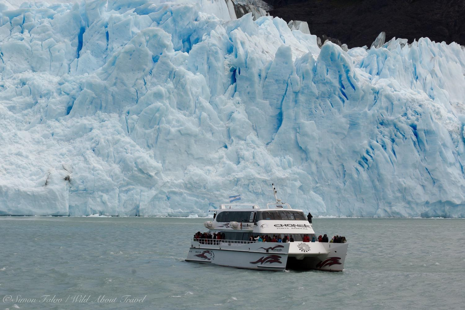 Argentina, The Boat to Upsala and Spegazzini Glaciers