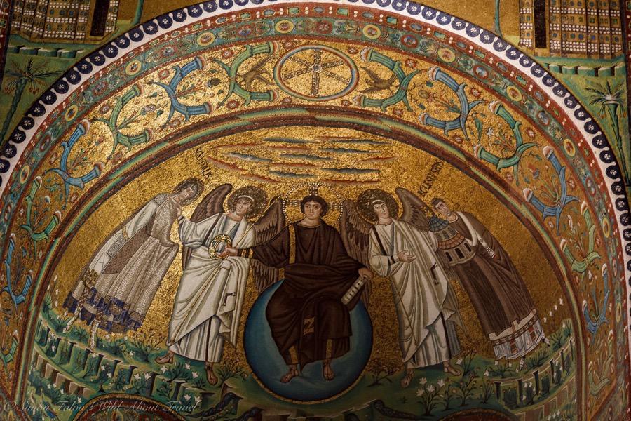 Ravenna, San Vitale Mosaics-2