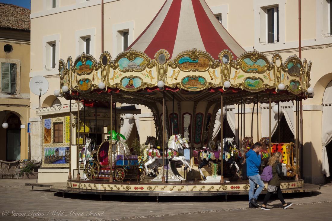 Cervia, Carrousel