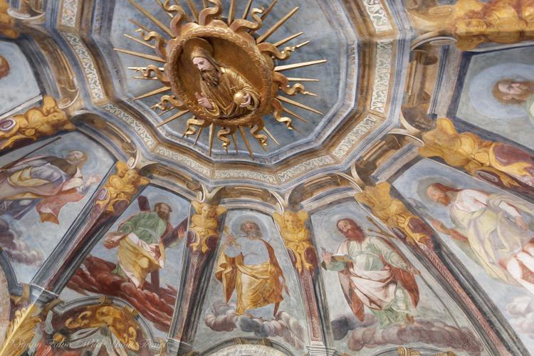 Sanctuary Santa Maria Alla Fontana - Frescoes
