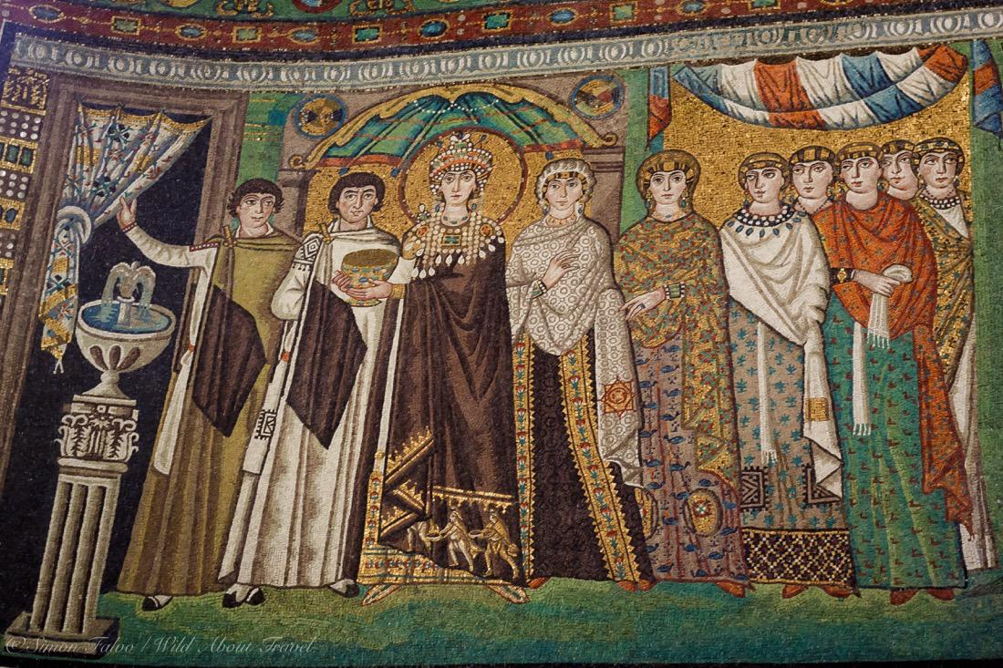 Ravenna, San Vitale Mosaics