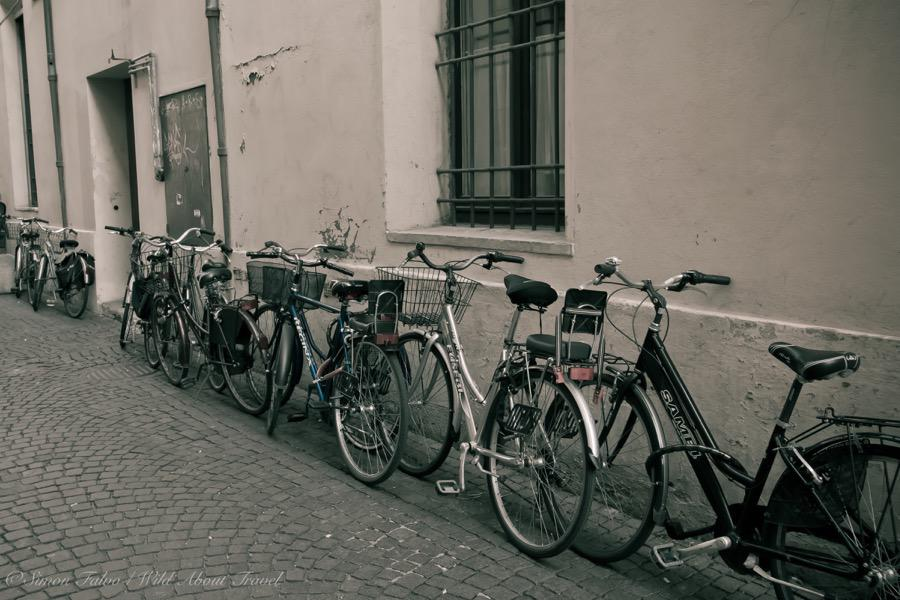 Ravenna, the City of Bicyces