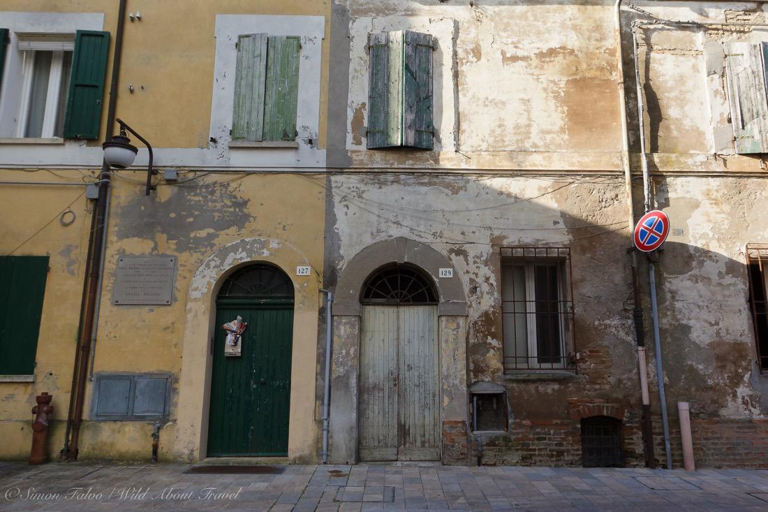 Salt workers' old house in Cervia