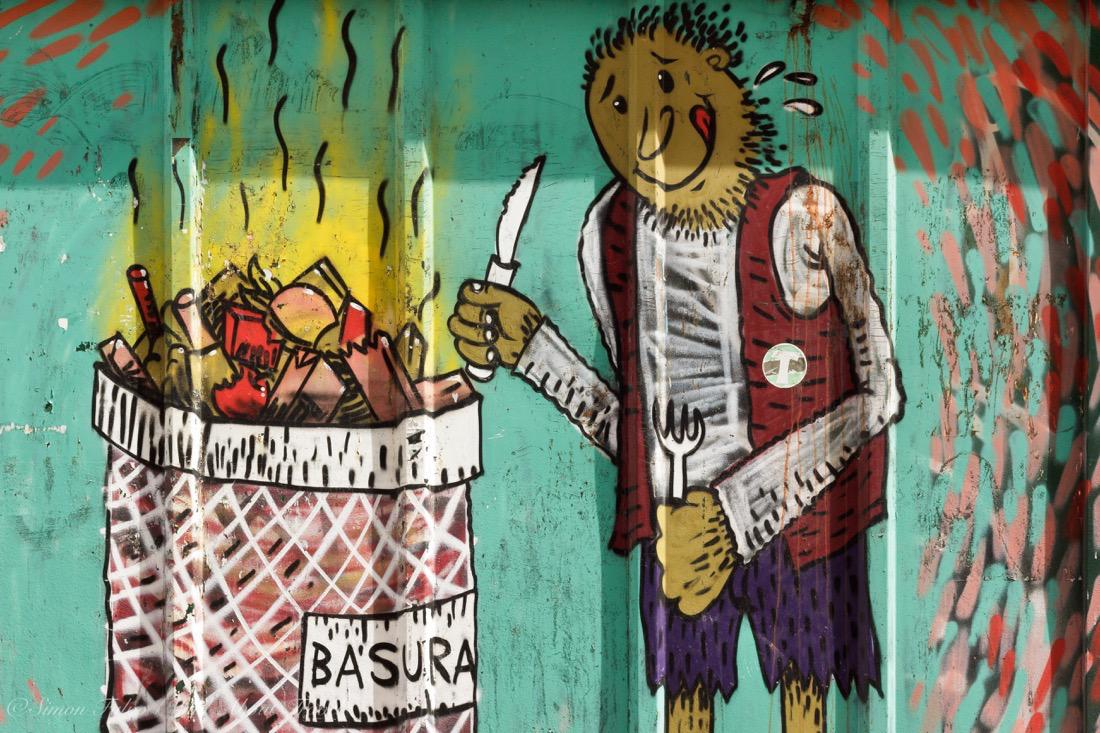 Buenos Aires Murales: Irony on Poverty