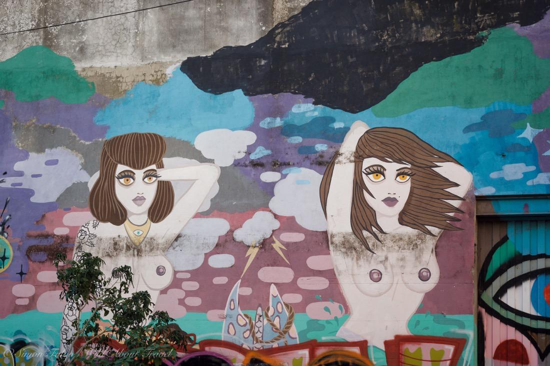 Murals in San Telmo