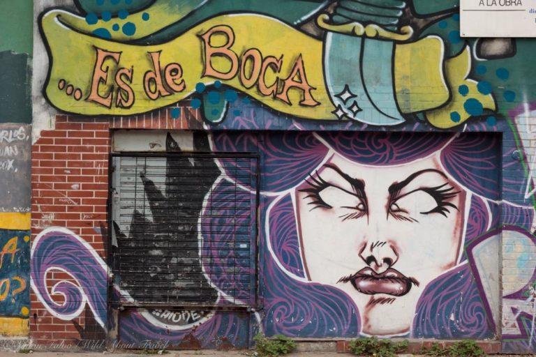 Buenos Aires Street Art in La Boca