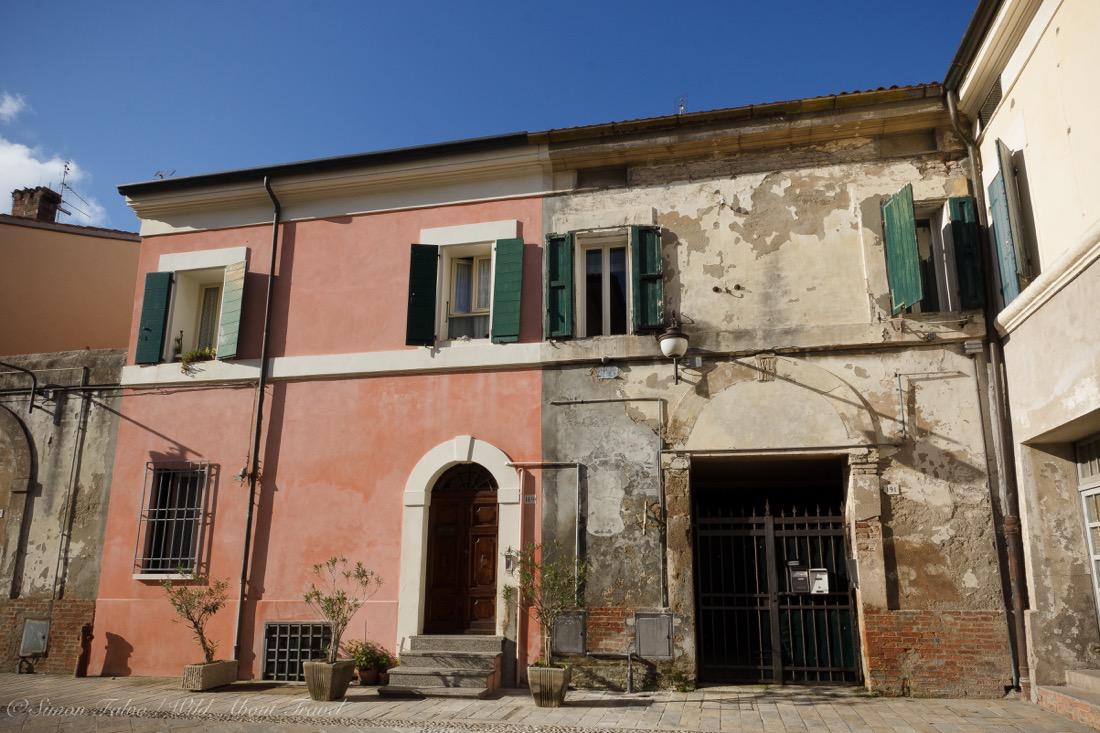 Cervia, Old Salt Workers Houses
