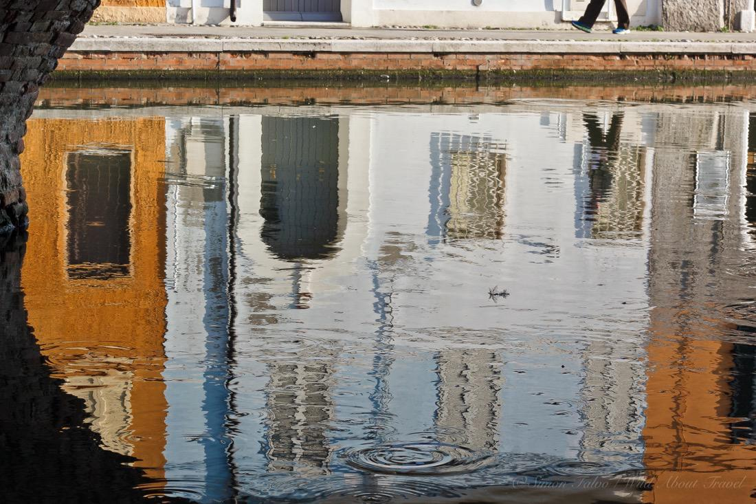 Comacchio, Blue and Orange Reflection