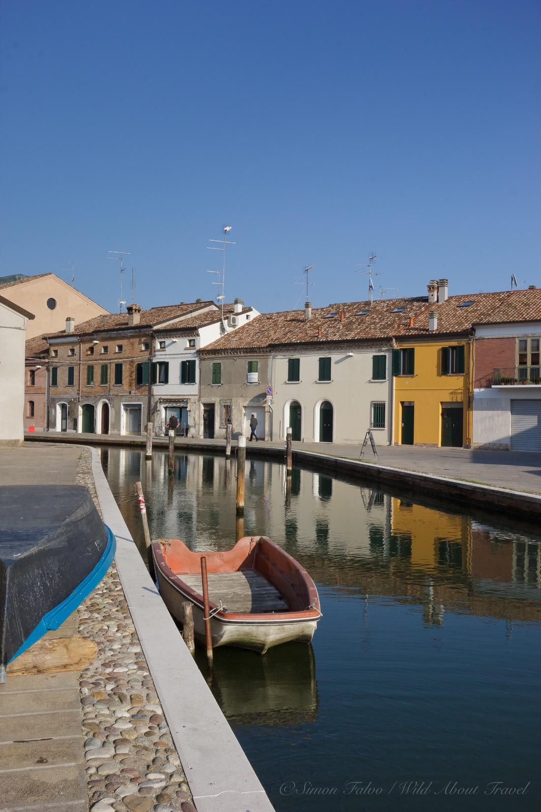 Comacchio, Canal and Boats
