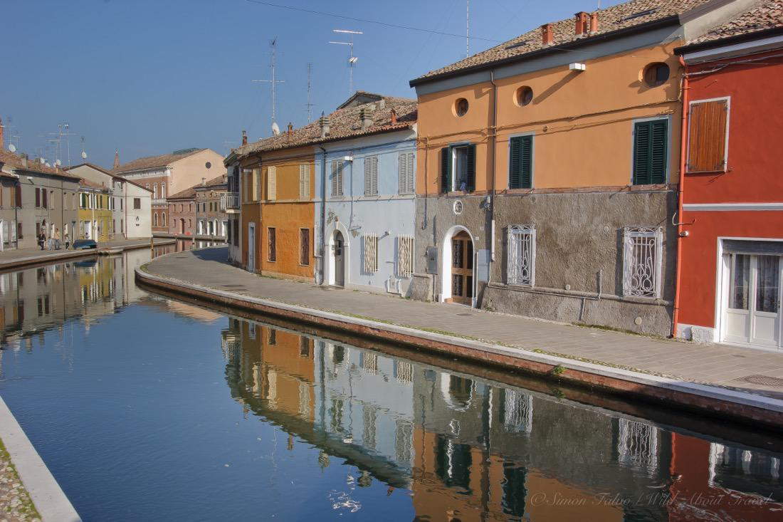 Comacchio Colored Houses